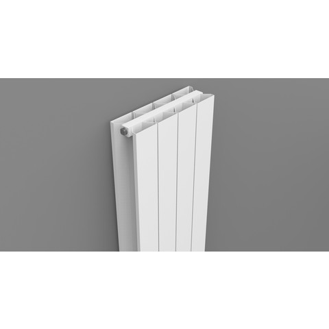 Thermrad AluStyle Plus designradiator 203,3 x 48 cm (H x L) wit
