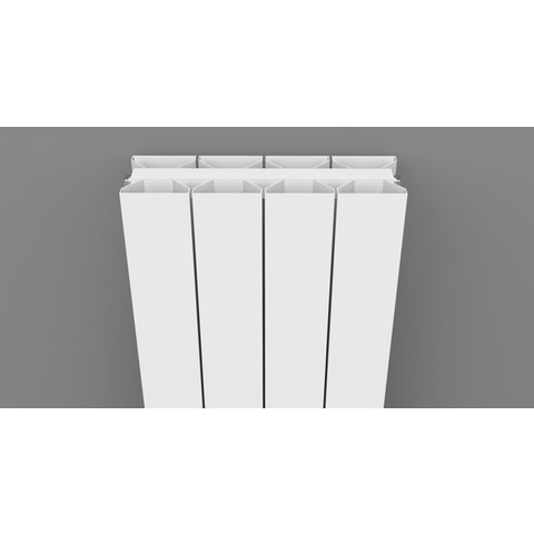Thermrad AluStyle Plus designradiator 203,3 x 24 cm (H x L) wit