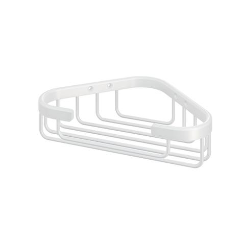 Hotbath Cobber CBA13 hoekdraadkorf mat wit