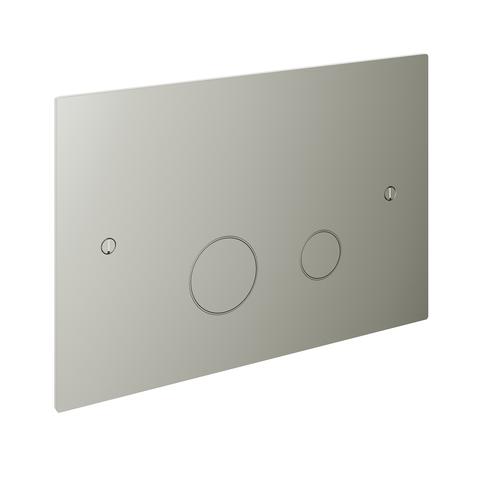 Hotbath Cobber CBA320 bedieningsplaat 2-knops glans nikkel