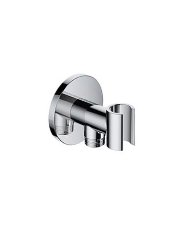 Hotbath Cobber IBS 20A inbouw doucheset - chroom - met ronde handdouche - 20cm hoofddouche - met plafondbuis 30cm - wandsteun met uitlaat