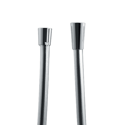 Hotbath Cobber IBS 21 inbouw doucheset - geborsteld nikkel - met ronde 3 standen handdouche - 30cm hoofddouche - met plafondbuis 30cm - glijstang met uitlaat