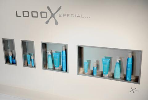 Looox Box inbouw nis 15x30 cm. 10 cm.inbouwdiepte rvs geborsteld