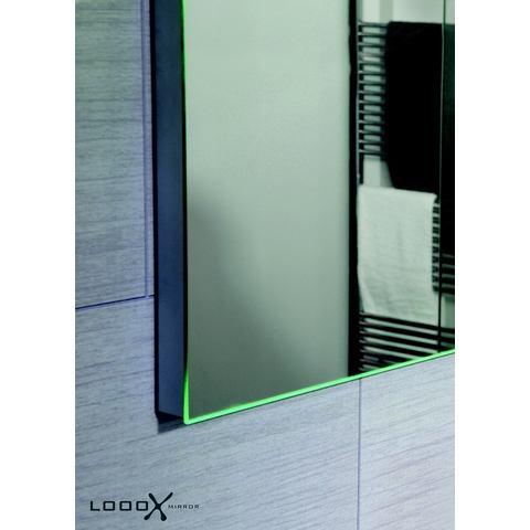 Looox M-Line spiegel 50x70 cm.verlichting l+r en verwarming