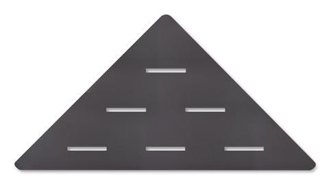 Looox Corner Shelf hoekplanchet 30 x 22 cm. antraciet
