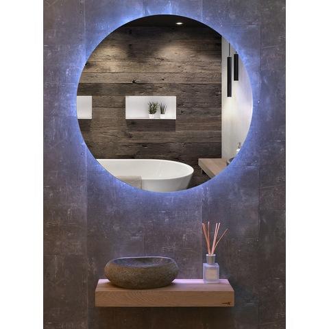 Looox Cm-Line spiegel rond cct-verlichting 80cm
