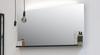 Riverdale spiegel met indirecte led boven- en onderverlichting - alu 1000x30mm (bxd)