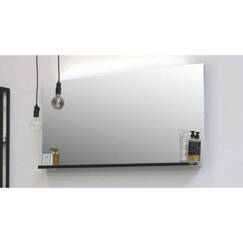 Riverdale spiegel met indirecte led boven- en onderverlichting - alu 1400x30mm (bxd) (zonder planchet)
