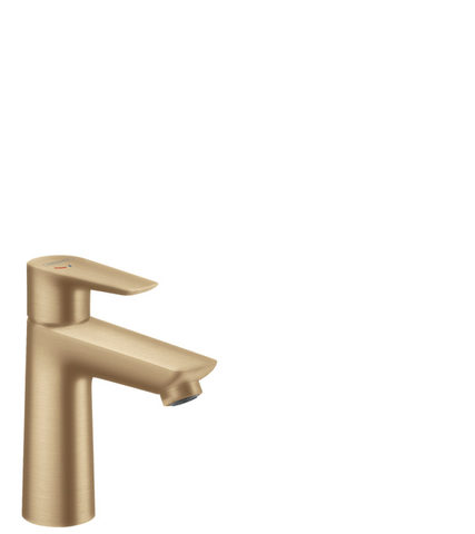 Hansgrohe Talis E wastafelmengkraan coolstart brushed bronze