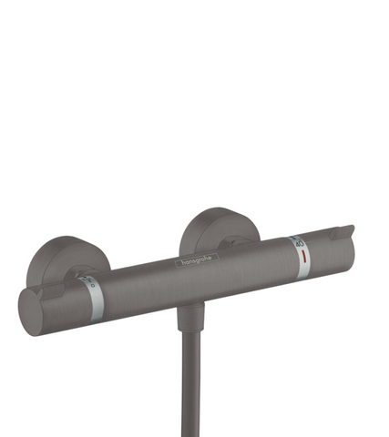 Hansgrohe Ecostat douchethermostaat brushed black chrome