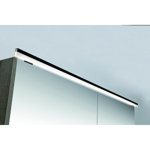 Ink LED line verlichtingsbalk 48x1x2,5 cm mat zwart