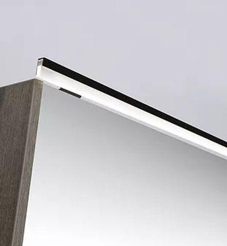 Ink LED line verlichtingsbalk 120x1x2,5 cm mat zwart