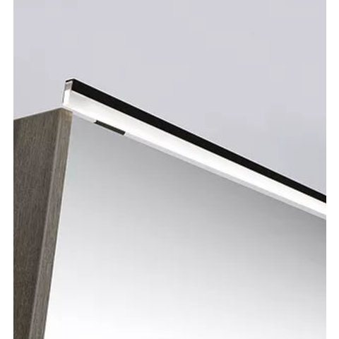 Ink LED line verlichtingsbalk 160x1x2,5 cm mat zwart