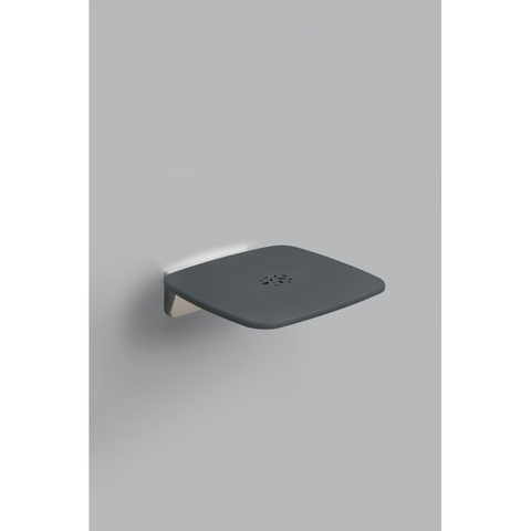 Provex Serie 300 douchezitje opklapbaar met bevestiging tot 160kg. chroom-grijs