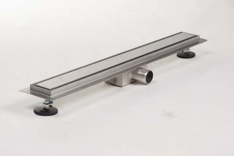 Brauer muur douchegoot 80cm - zero/tegelinlegrooster (omkeerbaar)