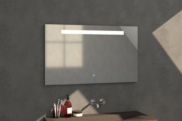 Bewonen spiegel Light 120 - met touch knop