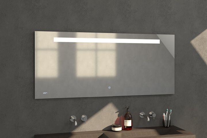 Bewonen spiegel Clock 160 - met touch knop