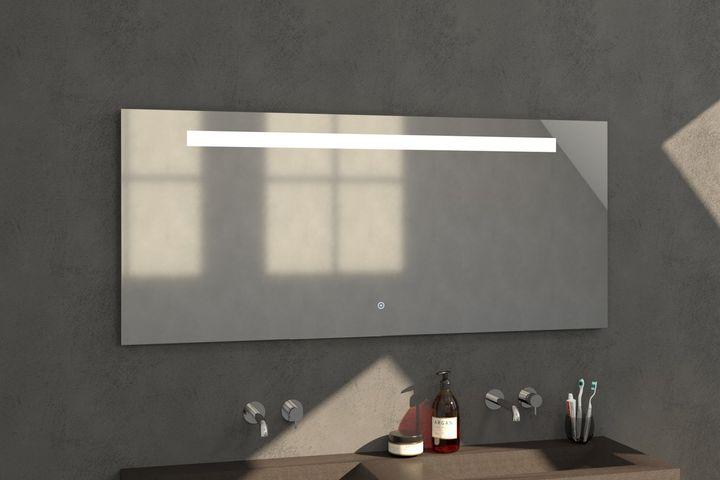 Bewonen spiegel Light 160 - met touch knop