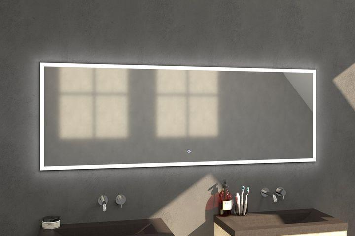 Bewonen spiegel Edge 200 - met touch knop