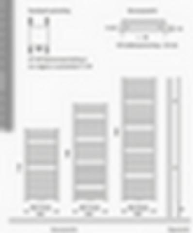 Instamat Nera designradiator gegalvaniseerd 185 x 60 cm (H x L) wit