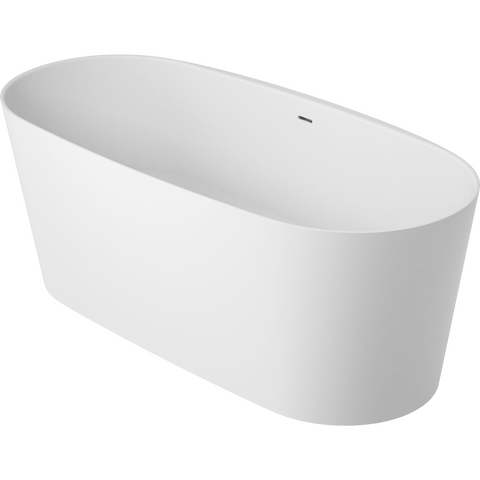 vtwonen baden Tub vrijstaand bad ovaal 165 x 72 cm. powder white