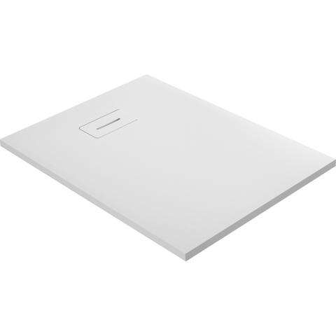 vtwonen baden Slab douchebak 120 x 90 cm. powder white