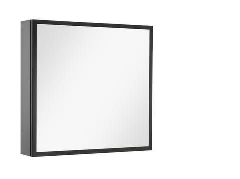 vtwonen baden Stock spiegelkast links 60 x 60 cm. black