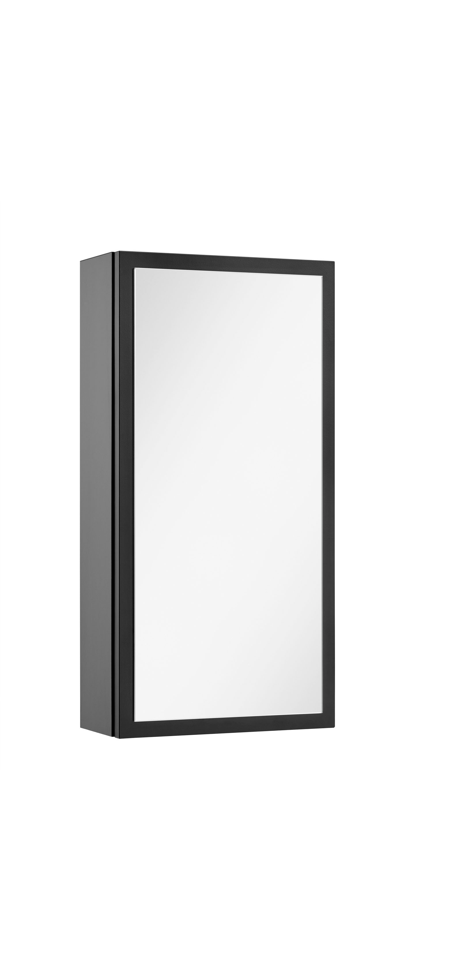 vtwonen baden Stock spiegelkast links 30 x 60 cm. black