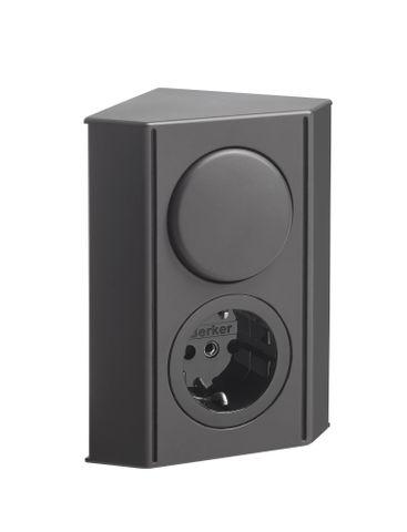 vtwonen baden Stock combibox voor spiegelkast black