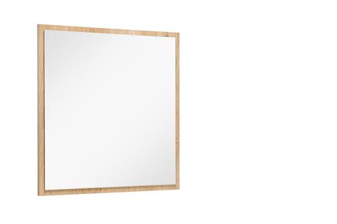 Spiegel Met Lijst.Vtwonen Baden Goodmorning Spiegel Met Lijst 60 X 60 Cm Oak