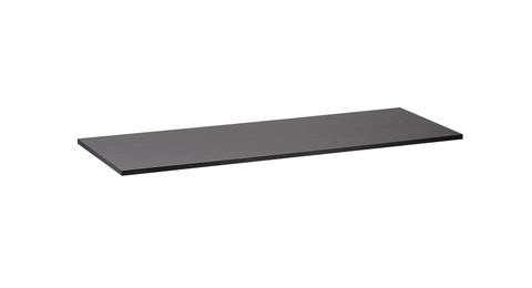 vtwonen baden Frame inlegtablet wastafel  116 x 11 cm. oak black