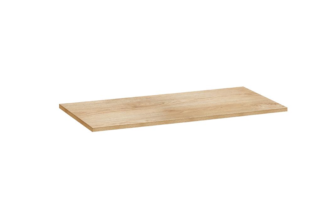 Vtwonen Wandplank.Vtwonen Baden Cube Afdekblad Zonder Sparing 90 X 46 Cm Oak