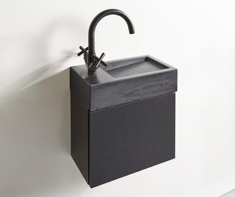 vtwonen baden Tank/Cube fonteinmeubel 40cm