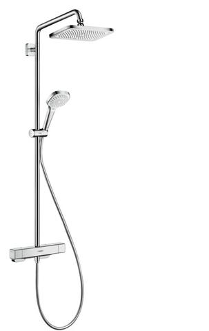 Hansgrohe Croma Select E 1jet showerpipe chroom