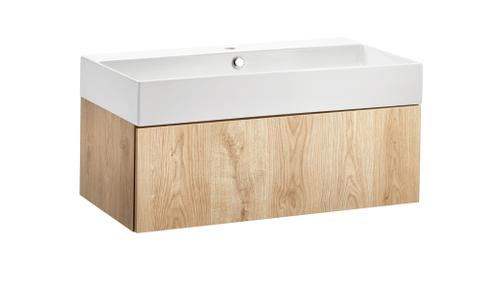 vtwonen baden Tank/Cube badmeubel wand 90cm