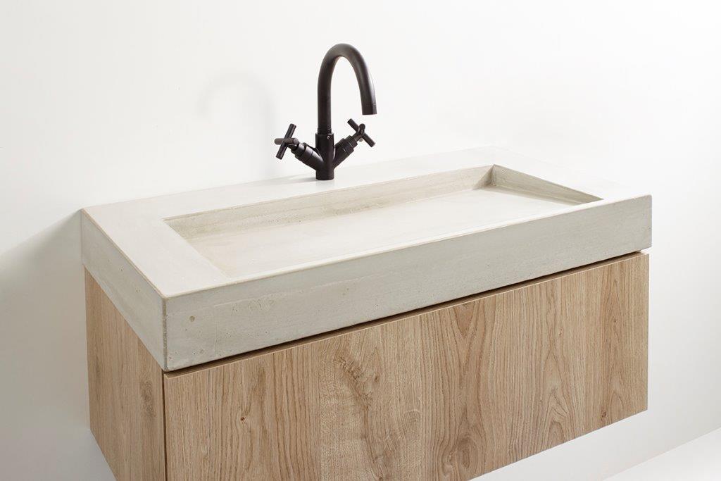 vtwonen baden Tank/Cube badmeubel wand 120cm