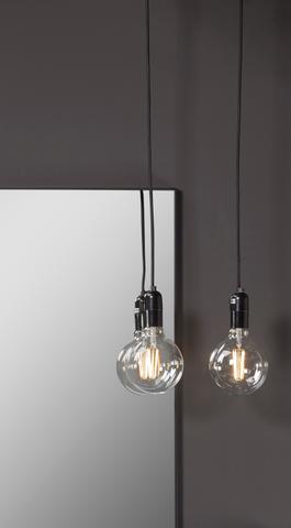 Blinq Tutto hanglamp met schakelaar zonder lamp wit