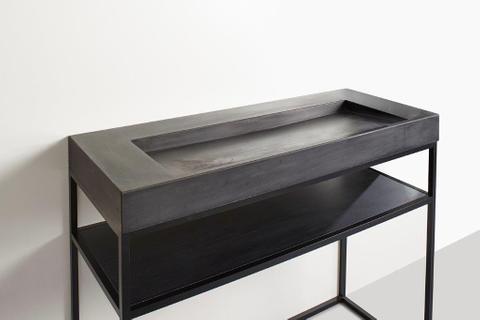 vtwonen baden Tank/Cube badmeubel staand met frame 120cm