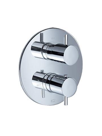 Hotbath IBS 2RA Get Together inbouw doucheset Laddy geborsteld nikkel - Staafhanddouche - hoofddouche 20cm - wandarm - glijstang