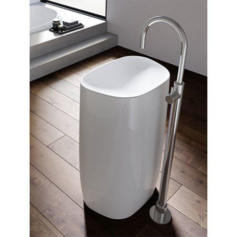 Hotbath Buddy B078W wastafelmengkraan vloermontage chroom