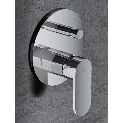 Hotbath Friendo F032 inbouw mengkraan met omstelknop chroom