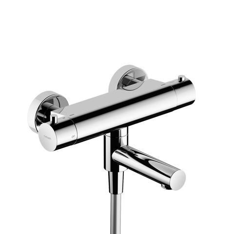 Hotbath Cobber B020 badthermostaat met draaibare uitloop chroom