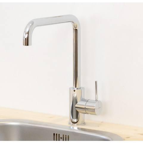 Hotbath Cobber CB041 keukenkraan recht chroom
