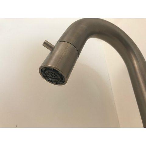 Hotbath Cobber U001 fonteinkraan geborsteld nikkel