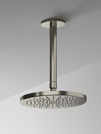 Hotbath Cobber M441C hoofddouche 20 cm met plafondbuis 15 cm chroom
