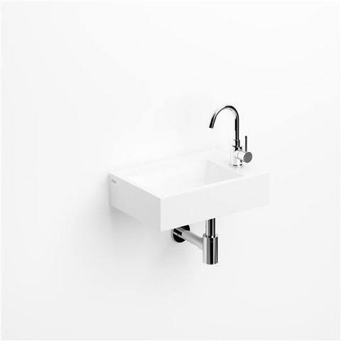 Clou Flush 2 Plus toiletfontein zonder kraangat aluite