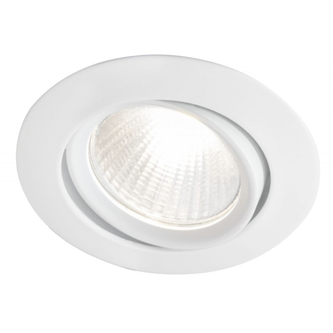 Blinq Piato inbouw LED spot 70 mm rond wit