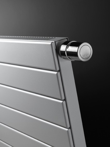 Vasco Viola H1l1-Ro radiator 1800x505 mm. n7 as=0023 1494w wit ral 9016