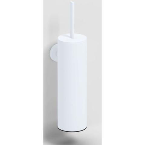 Clou Flat toiletborstelgarnituur wand mat wit