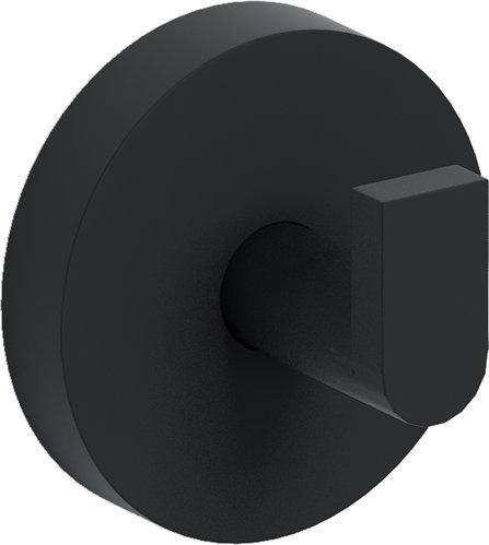 Clou Flat kledinghaken set van 2 mat zwart